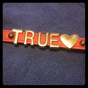 "BCBG Affirmation (""TRUE"") Bracelet"